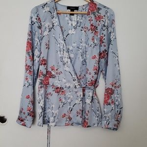 Forever 21 wrapped blouse